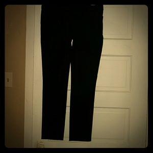 Loft  black dress pants! Zoe skinny size 2